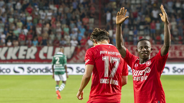 PHOTOS: Yaw Yeboah scores for Dutch top-flight side Twente