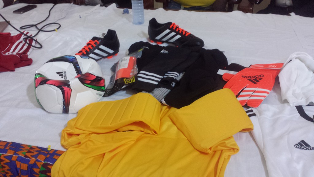 Ghana FA paid over GH¢ 50,000 to clear equipments for National U15 Championship