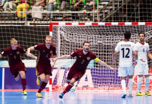 Futsal World Cup heartbreak for Iran at the hands of Russia