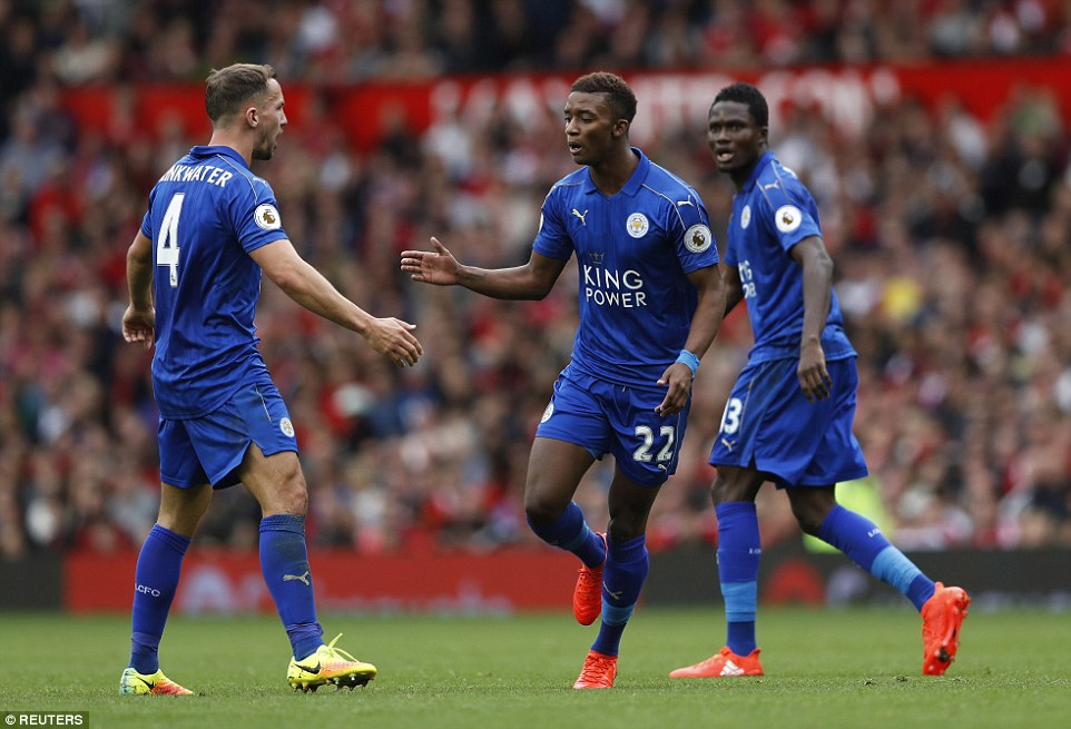Versatile Ghana midfielder Daniel Amartey provides assist in Leicester City defeat at Man United