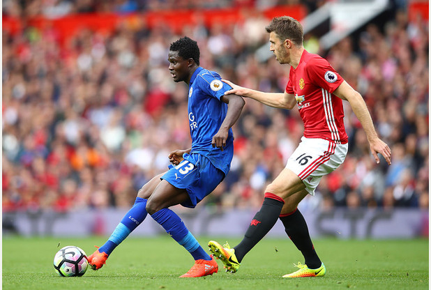 Leicester City's Daniel Amartey filling the Kante void will take time