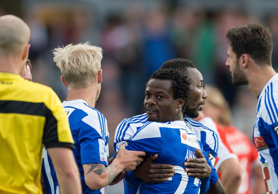 Ghana duo Evans Mensah and Anthony Annan miss out on Finnish Cup trophy