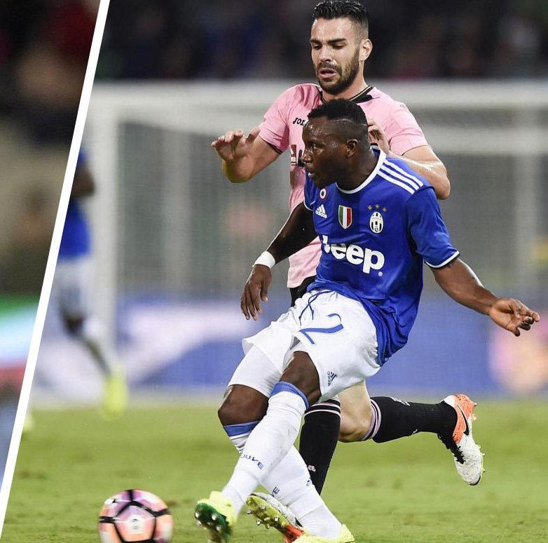 Substitute Kwadwo Asamoah suffers knee injury in Juventus slender win at Palermo