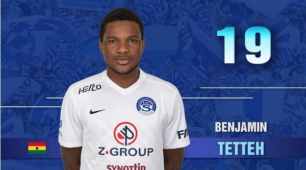 Standard Liege loanee Benjamin Tetteh debuts in defeat for Slovacko in Czech Republic