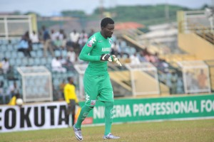 Ghanaian goalkeeper Nana Bonsu living his dream at Nigerian giants Enugu Rangers