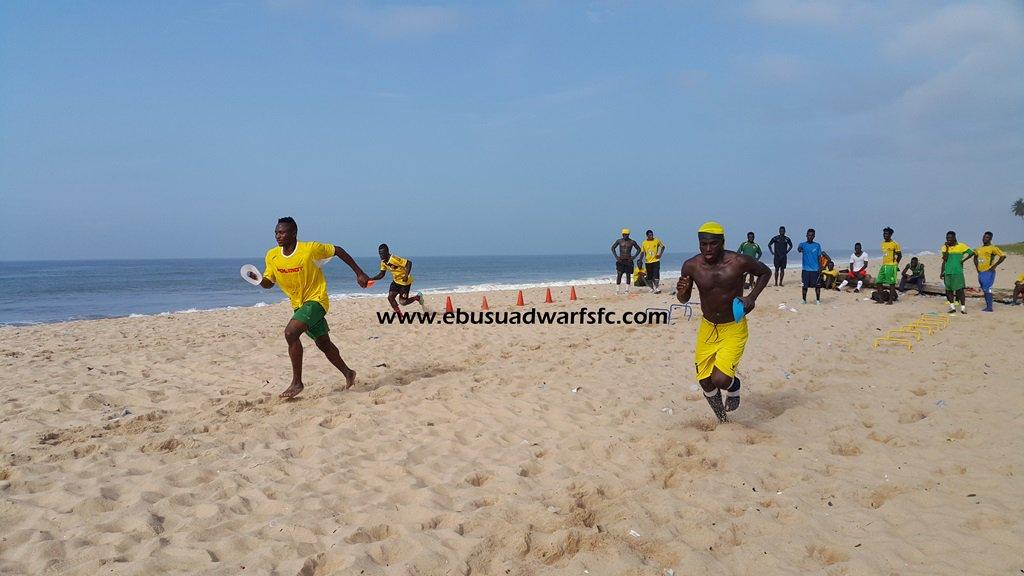 Ebusua Dwarfs intensify work ahead of Hearts of Oak clash