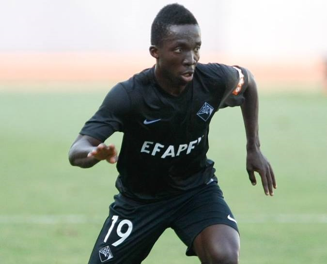 VIDEO: Watch Ernest Ohemeng's cool finish for Academica in Portugal