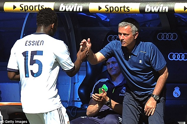 Jose Mourinho got incensed Real Madrid players snubbed Michael Essien birthday