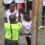 Player trade punches with referee after sending off in Zimbabwe