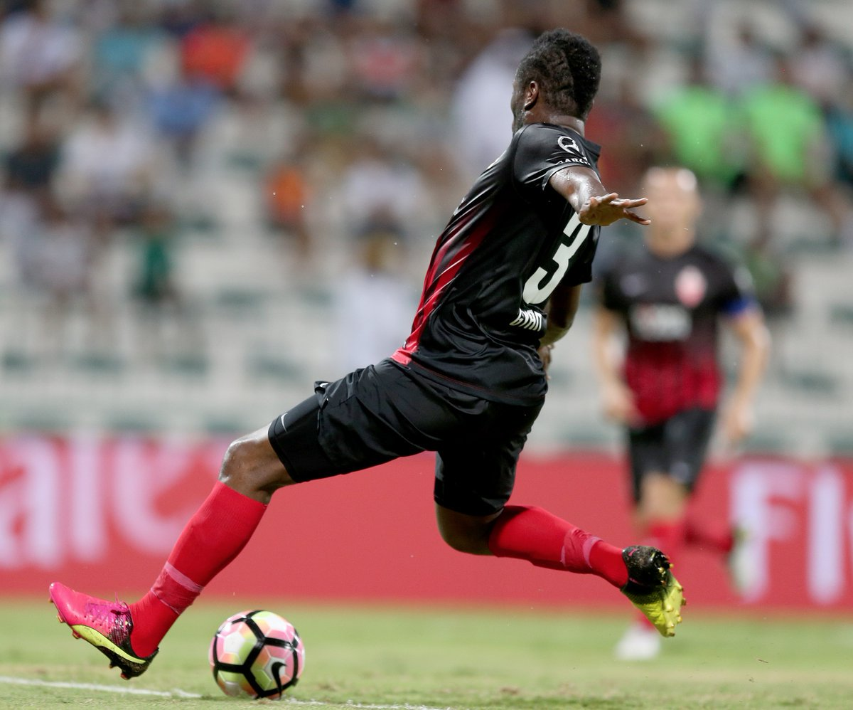 Watch Asamoah Gyan's injury-time winner as Al Ahli beat Al Shabab in Cup match