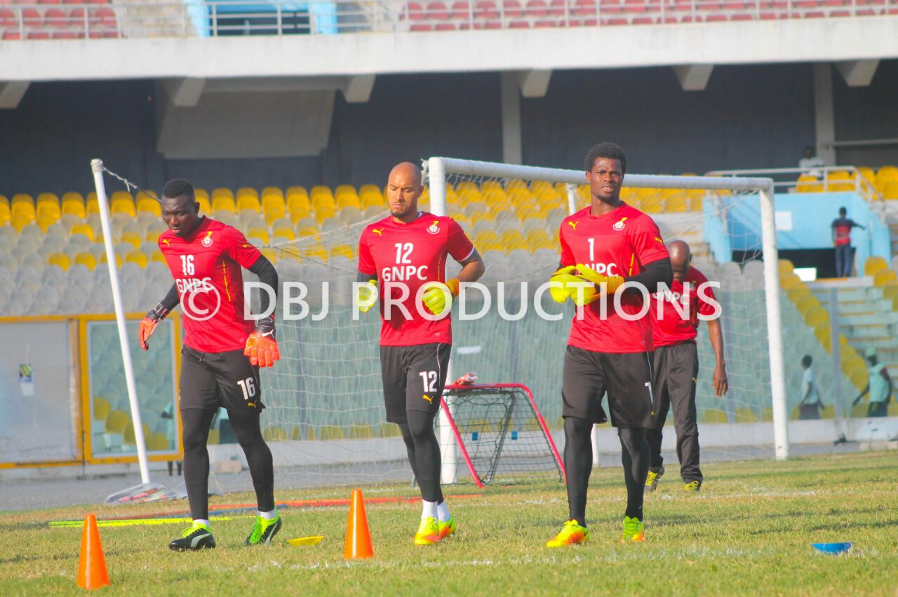 PHOTOS: Black Stars step up preparations for final AFCON qualifier