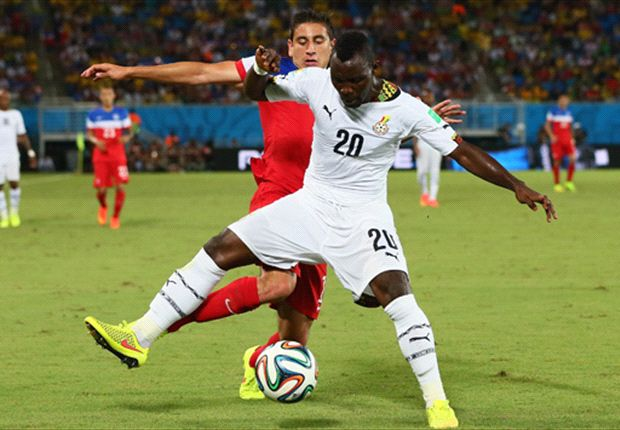 Ghana could lose in-form midfielder Kwadwo Asamoah for 2018 World Cup qualifier against Uganda
