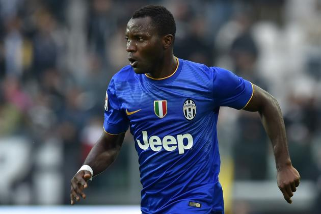 Kwadwo Asamoah lined up for knee operation after suffering injury in Juventus win