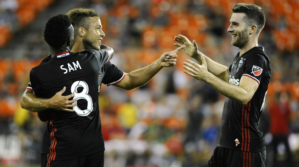 Ghanaian attacker Lloyd Sam strikes for DC United in massive win over Orlando City