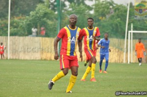 Ghana's Sports minister features in Hearts friendly defeat to third-tier side Vision Explorers