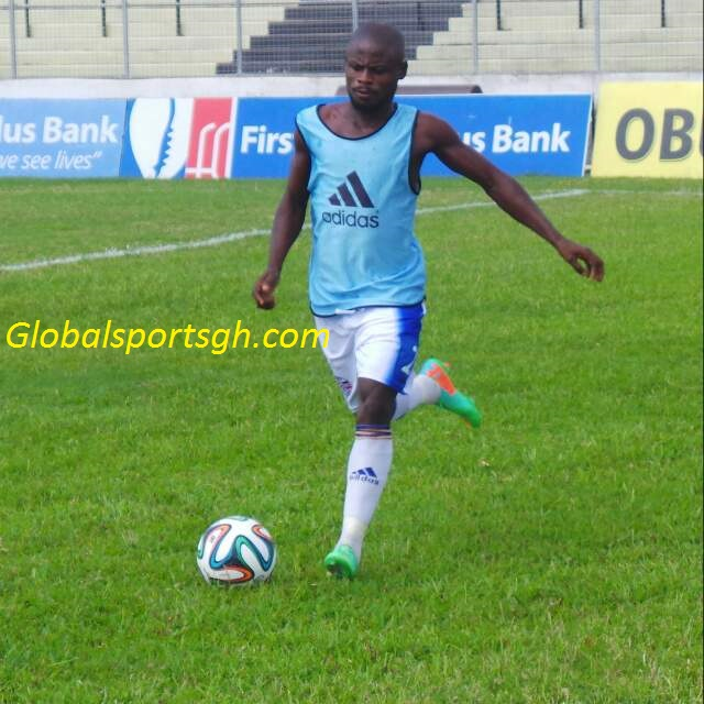 Hearts of Oak sign Liberty Professionals right back Anthony Nimo- reports