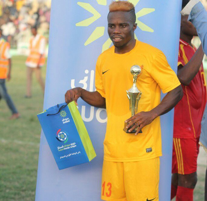 Al Merreikh star Augustine Okrah wins fourth official man of the match award of the season