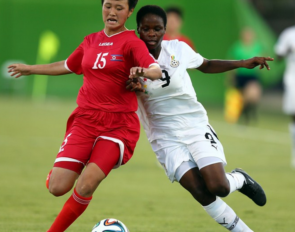 Black Maiden's captain Sandra Owusu wants to win the goal king award at the World Cup
