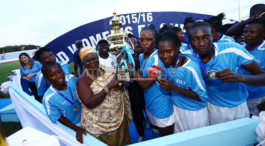 Police Ladies bag GH¢ 10,000 for winning Sanford World Clinic Women's FA Cup