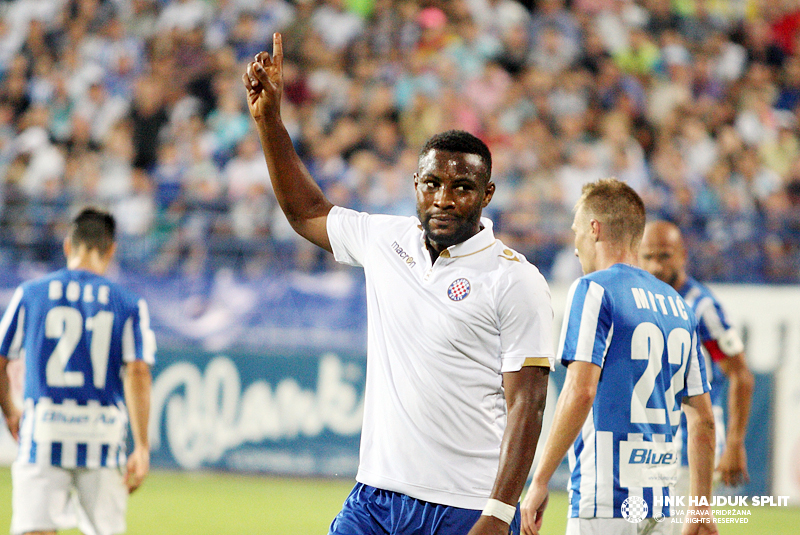 Ghanaian forward Ahmed Said scores hat-trick as Hadjuk Split swat aside Rudes