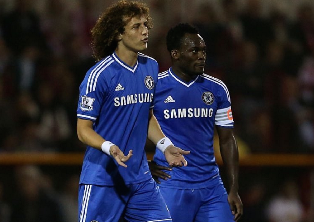 Chelsea legend Michael Essien wel es David Luiz back to Stamford