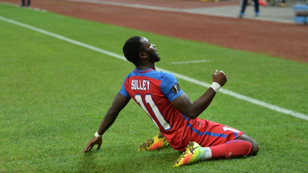 Muniru Sulley scores first Europa League goal as Steaua Bucuresti draw with Villarreal