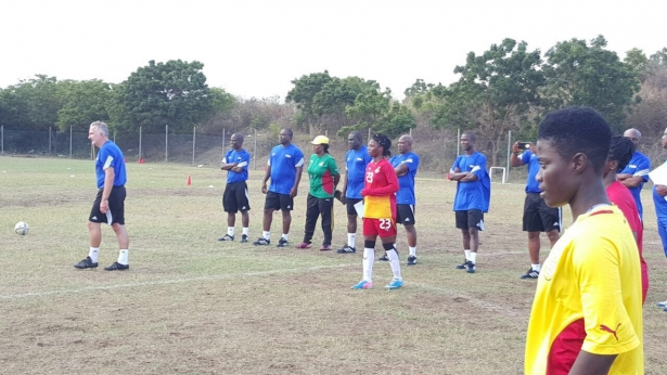 Physical fitness course for Premier and national team coaches ends today