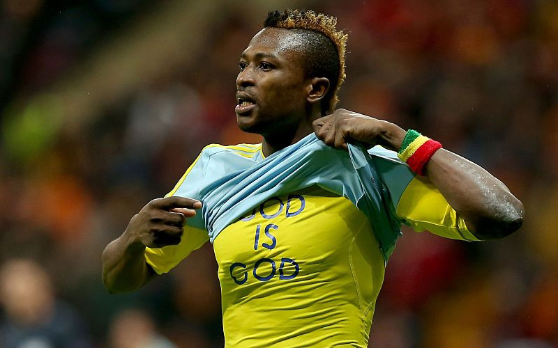 Ghanaian striker Patrick Twumasi in search of second European goal this season