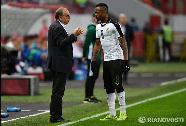 PHOTOS: Russia 1-0 Ghana - Black Stars slip to narrow defeat against 2018 WC hosts in Moscow