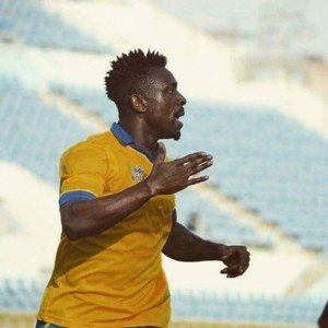 Ghanaian striker Emmanuel Banahene scores in Ismaily 1-1 stalemate with El Geish
