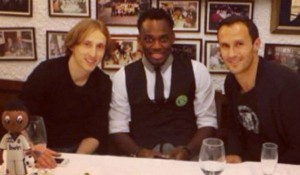 Jose Mourinho had to console Essien after Real Madrid birthday snub