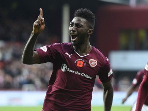 Hearts coach Robbie Nielson insists Ghanaian midfielder Prince Buaben has a future at the club