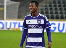 Ghanaian defender Emmanuel Sowah Adjei named in Anderlecht's Europa League squad against Saint-Étienne on Thursday