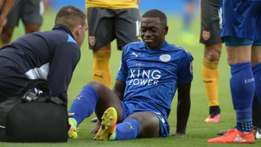 Claudio Ranieri Offers Positive Nampalys Mendy Update and Is Unconcerned About Vardy's Port Ritual