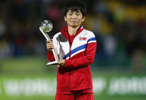 DPR Korea's Sung credits teammates for historic performance