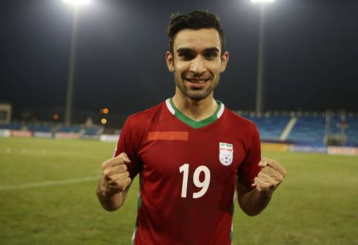 Reza Jafari looking to emulate Iran senior team