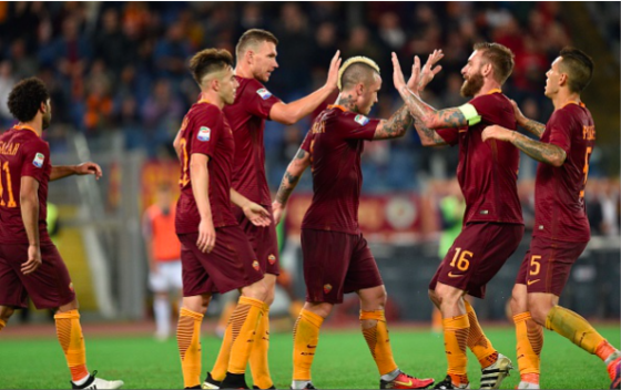 Sensational home form provides platform for Roma Scudetto push