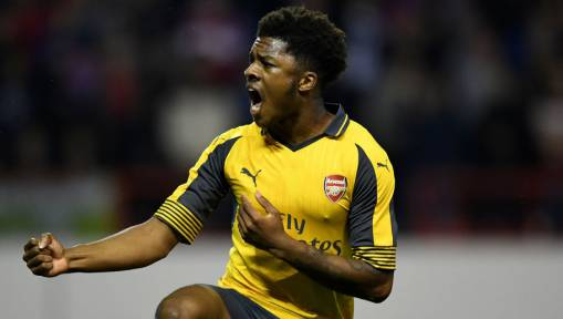 Arsenal Youngster Chuba Akpom Suffers Injury Setback on Road to Recovery Ruling Him Out Until 2017