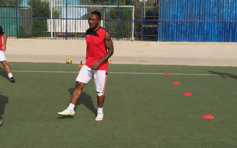 Zamalek striker Ben Acheampong makes quicker than expected recovery and returns to training