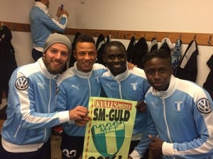 Ghana midfielder Enoch Adu Kofi clinches record Swedish Allsvenskan title with giants Malmo FF