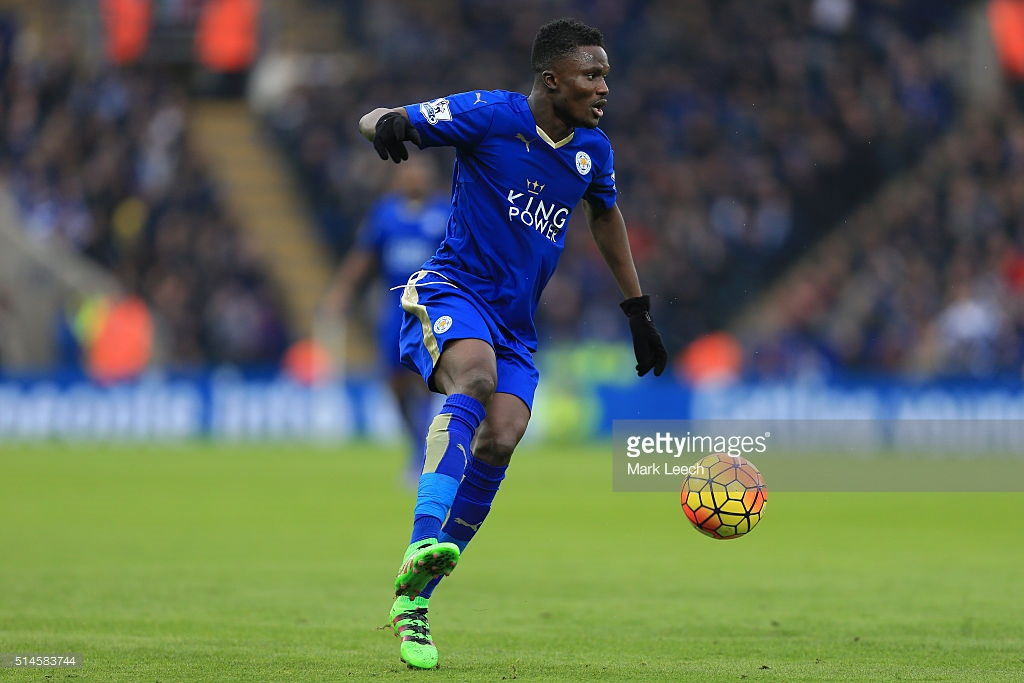 Ghana duo Daniel Amartey and Jeffrey Schlupp in Leicester squad to face Porto