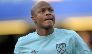 Andre Ayew could return to boost West Ham United ahead of Chelsea clash on Wednesday