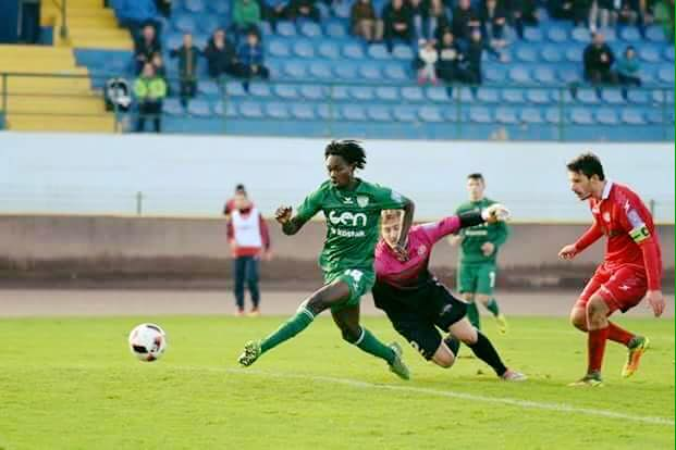 Ghanaian youngster Ibrahim Mensah on target for Krško in Slovenia top-flight