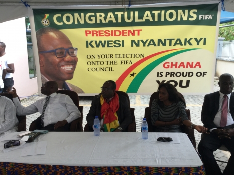 Kwesi Nyantakyi expresses gratitude to all after FIFA Council election victory
