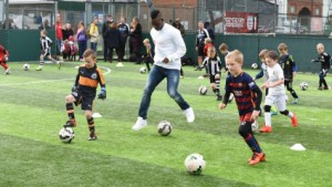 Ambassador Christian Atsu visits Newcastle United orphanage ahead of Preston North End clash