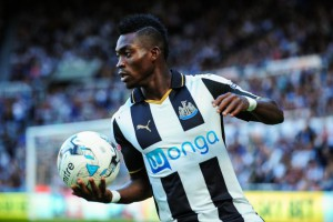 Newcastle United wideman Christian Atsu anticipating a 'different' game against Preston North End