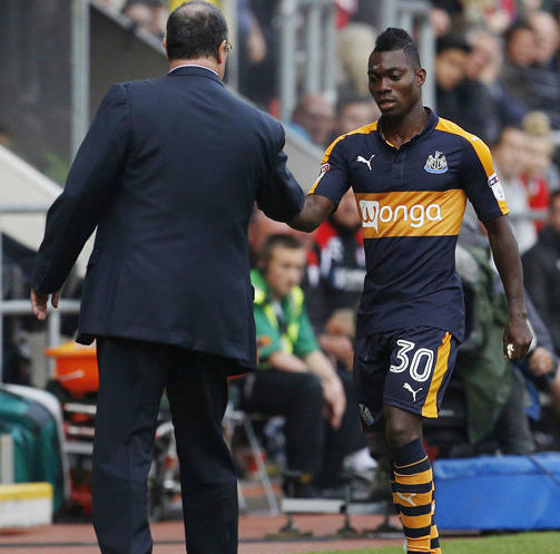 Newcastle manager Benitez pleased with Christian Atsu performance in Preston drubbing