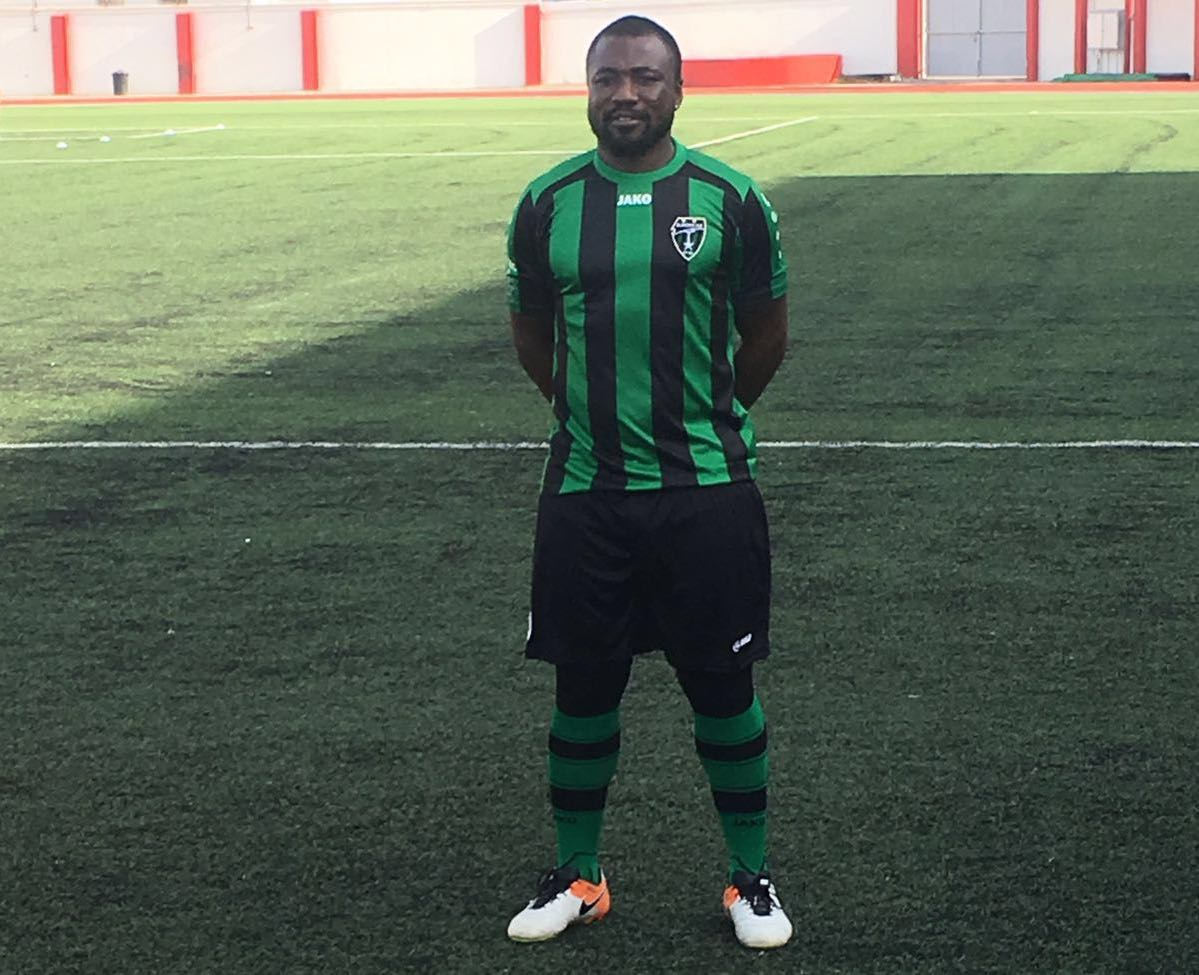 Europa FC ace Rahim Ayew facing three weeks on the sidelines after hamstring injury