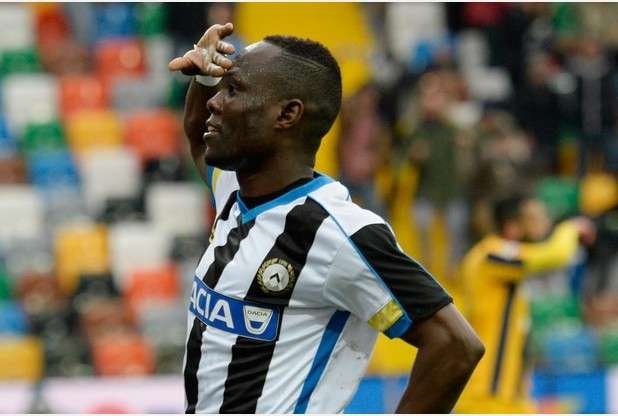 Ghana ace Agyemang-Badu hits top form as he provides assist in Udinese emphatic win in Serie A