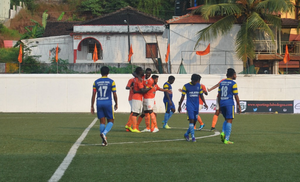 Striker Francis Dadzie nets equalizer for Sporting Clube de Goa in India